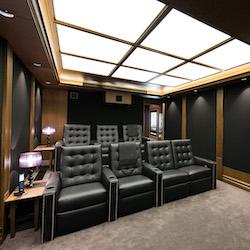 Dedicated home cinema